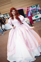 Ariel's Pink Dress Tutorial by Carrie_Hearts
