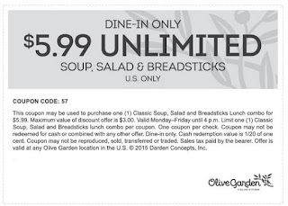 Olive Garden Printable Coupons July 2017 Printable