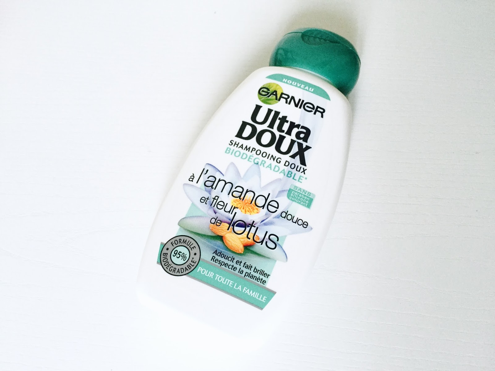 shampoing Ultra Doux amande douce et fleur de lotus