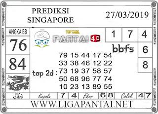 """Prediksi Togel """"SINGAPORE"""" PANTAI4D 27 MARET 2019"""
