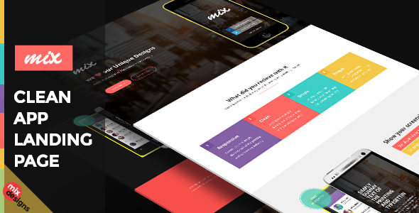 New Bootstrap App Landing Page Template