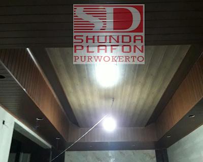 Pemasangan Shunda Plafon Rumah Pak Hutoyo