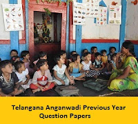 Telangana Anganwadi Previous Year Question Papers
