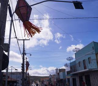 Prefeitura de Picuí ornamenta cidade no clima do circuito junino 2017