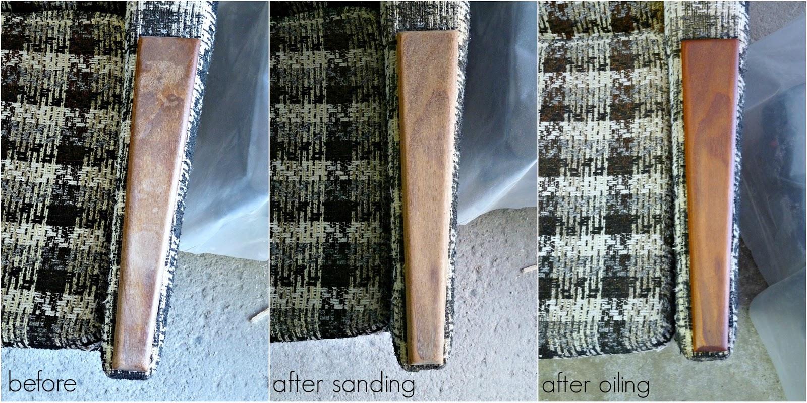 Refinish Damaged Furniture Arms