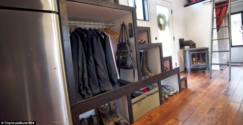 Kitchen Furniture Storage Knoxville Cabinets A Couple Got Out Of The Rat Race. And Built This Tiny Home ...