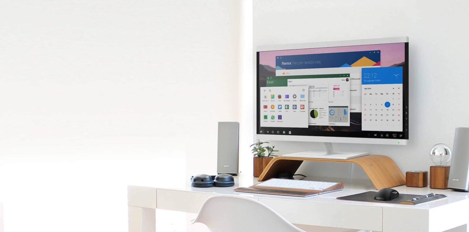 نظام Remix OS هو افضل محاكي اندرويد لالعاب الهاتف على الكمبيوتر