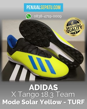 Futsal Adidas X Tango 18.3 Team Mode Solar Yellow - TURF