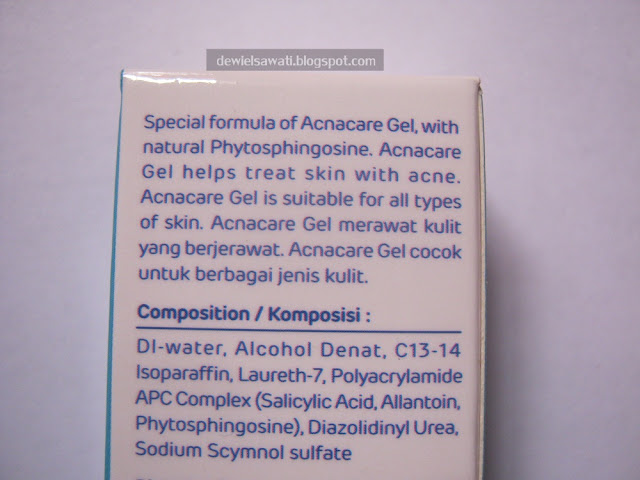 Acnacare Gel Review