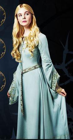 Malevola filme princesa Aurora figurino