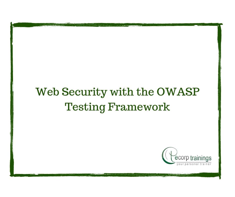 Web Security with the OWASP Testing Framework Training
