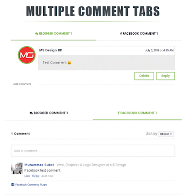 Tab True Mag Multiple Comments