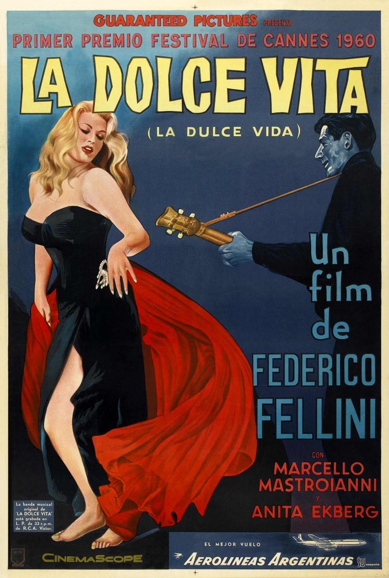 Film excess la dolce vita 1960 fellini 39 s immortal for La dolce vita
