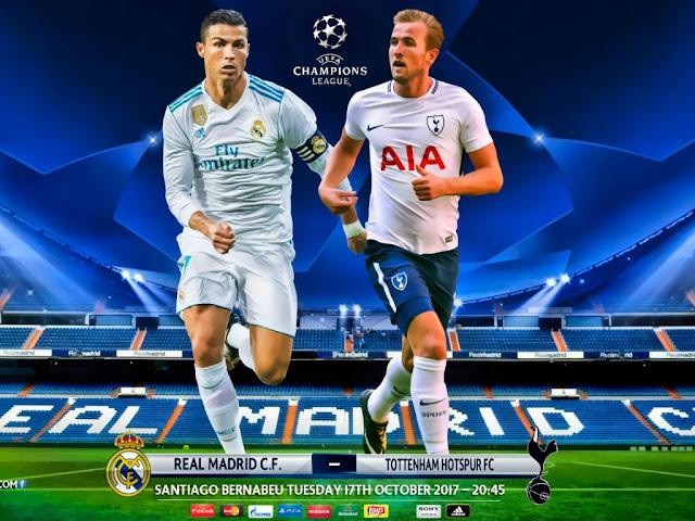 Real Madrid x Tottenham Champions League - Horário, data e TV