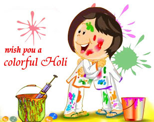 Holi sms in English
