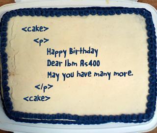 happy 29th birthday as400