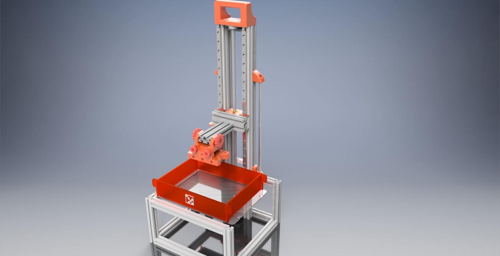 SLA LCD / DLP Resin 3D Printer