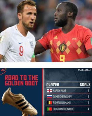 Persaingan Top Skor Piala Dunia 2018 Kane vs Lukaku