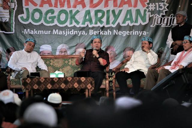 Live Streaming Tabligh Akbar Dilarang Polisi, Fahri Hamzah: Istana Pelu Diruqiyah Massal