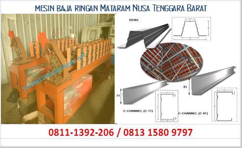mesin baja ringan Mataram Nusa Tenggara Barat