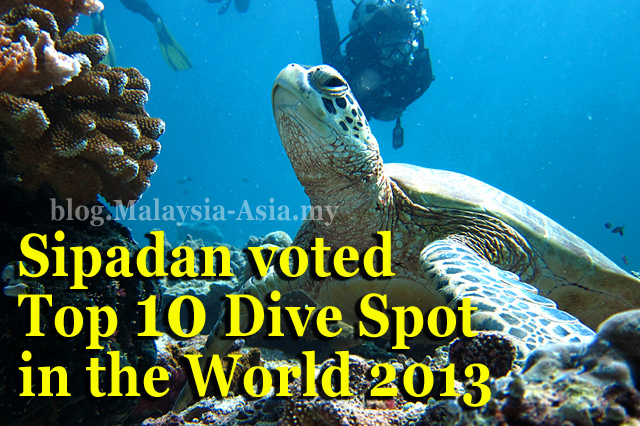 Top 10 Dive Sites in World Sipadan Island