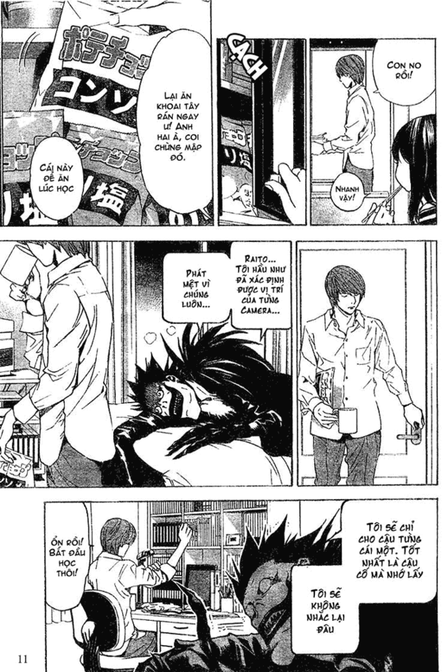 Death Note chapter 017 trang 11