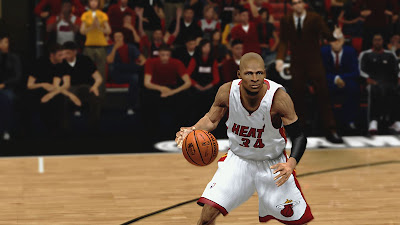 NBA 2K13 Ray Allen Cyberface Patch