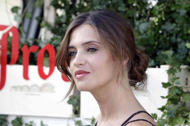 HQ Photos of Sara Carbonero Promotes New Brand in Madrid