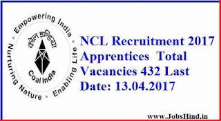 NCL Recruitment 2017 Ke Liye 432 Apprentices