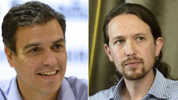 PSOE y Podemos exploran conformación de gobierno en España