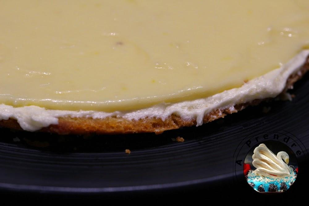 Gâteau d'anniversaire façon tarte au citron (pas à pas en photos)
