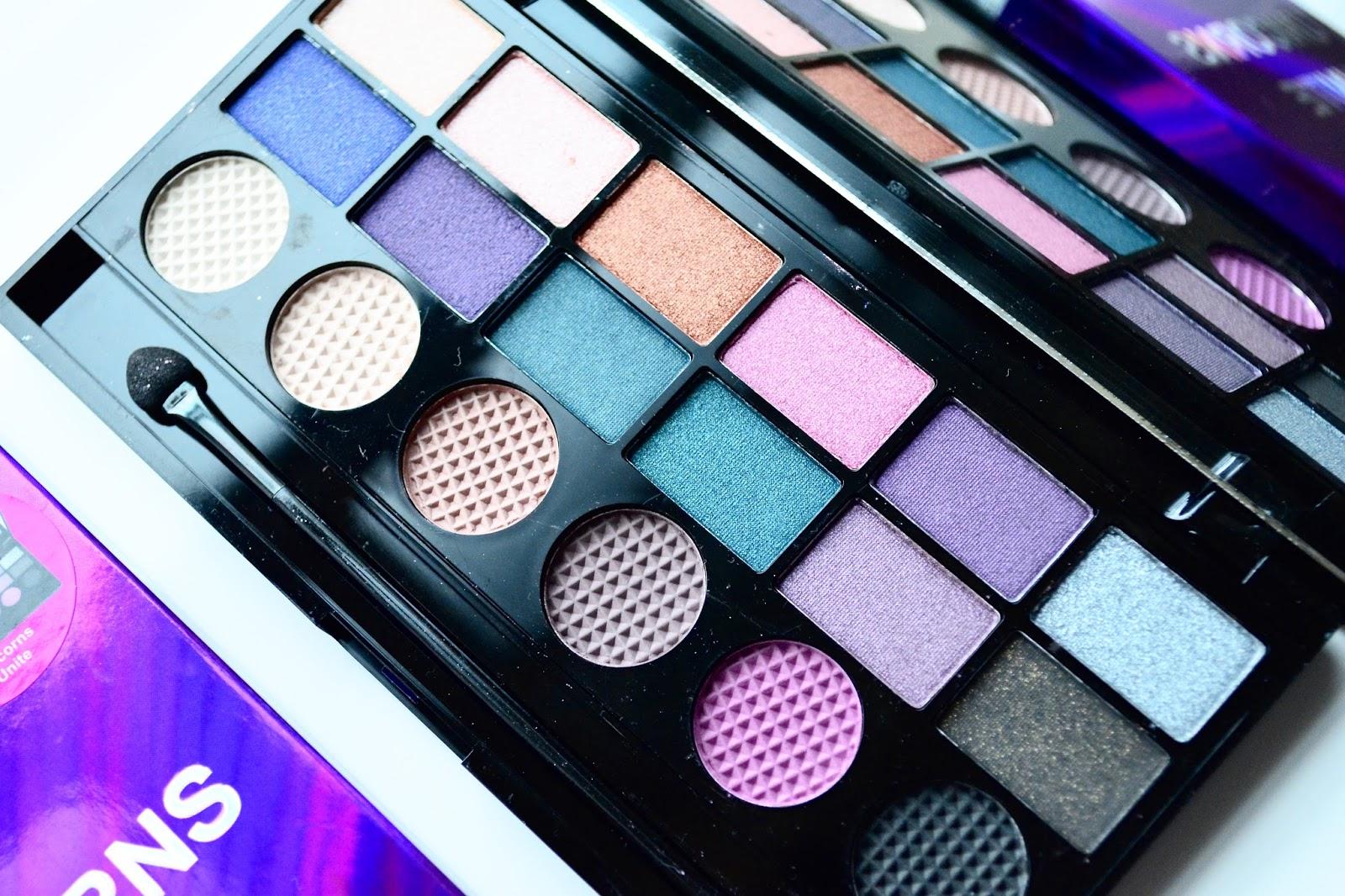 makeup revolution midnight unicorn palette