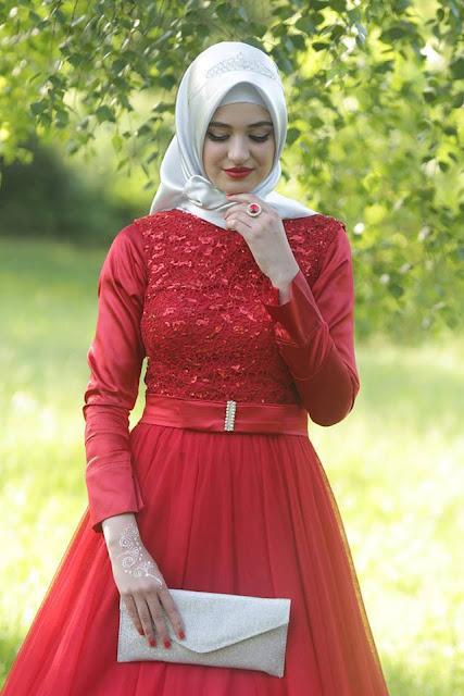 ملابس المحجبات لعيد الفطر السعيد 2016