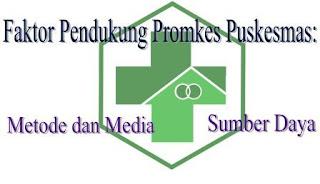 Faktor Pendukung Promosi Kesehatan di Puskesmas