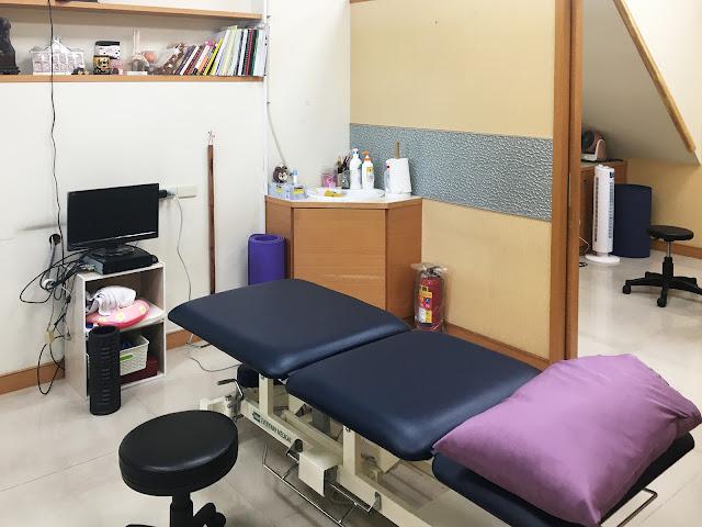 好痛痛 嘉義如康物理治療所 嘉義市東區 診療床 治療室 物理治療 徒手治療
