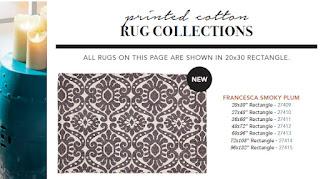Francesca Smoky Plum Rugs : Ladybug Junction