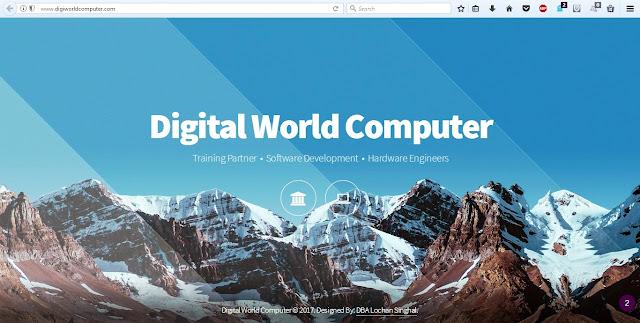 Digital World Computer Pvt. Ltd.