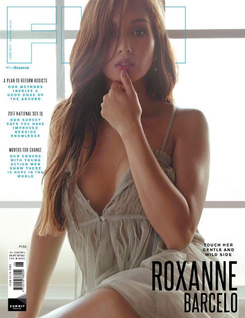 Roxanne Barcelo FHM June 2017 Cover Girl