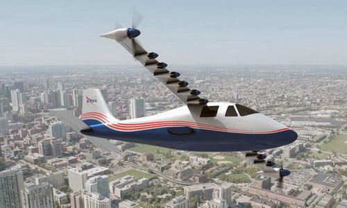 Tinuku NASA X-57 Maxwell Era Baru Pesawat Terbang Elektrik Tahun 2018