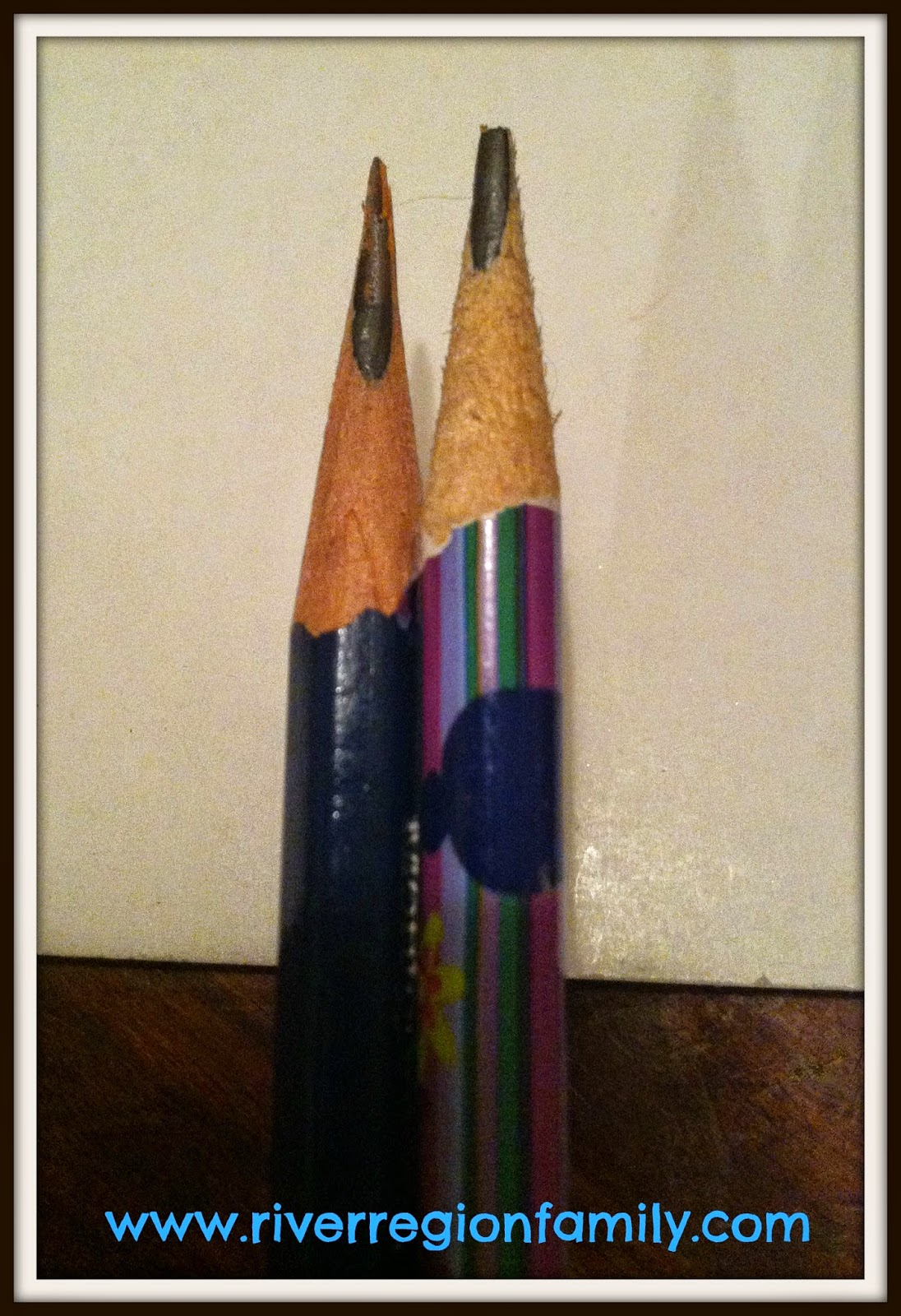 Coolest Pencil In The World River Region Family A Tale Of Pencil Woe Or How I Found