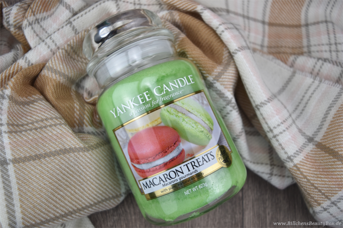 Yankee Candle -  Holiday Party Kollektion - Macaron Treats - Duftbeschreibung & Review