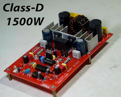 Power Amplifier Class-D D1K5