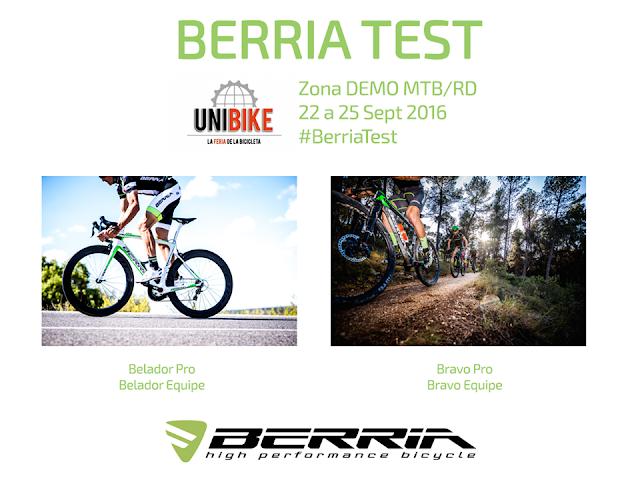 """Berria Bike """"desembarca"""" en Unibike"""