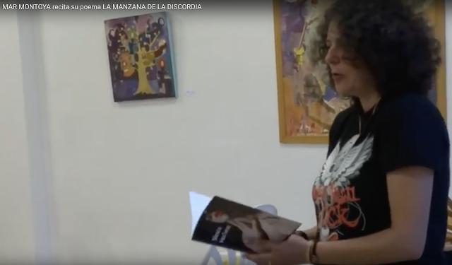 MAR MONTOYA recita sus poemas en ESPACIO ARTESUR Berja