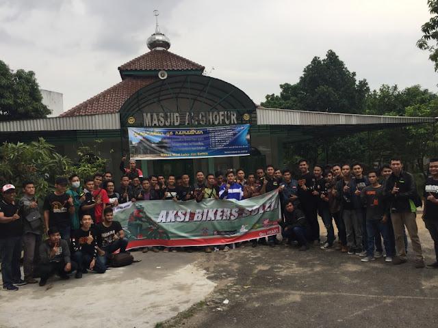 Aksi Bikers Sholeh Motor Honda Memaknai Bulan Suci Ramadhan