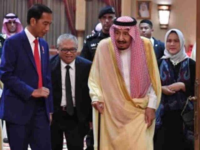 Jokowi dan Raja Salman Gelar Pertemuan di Istana Al-Qasr Al-Khas