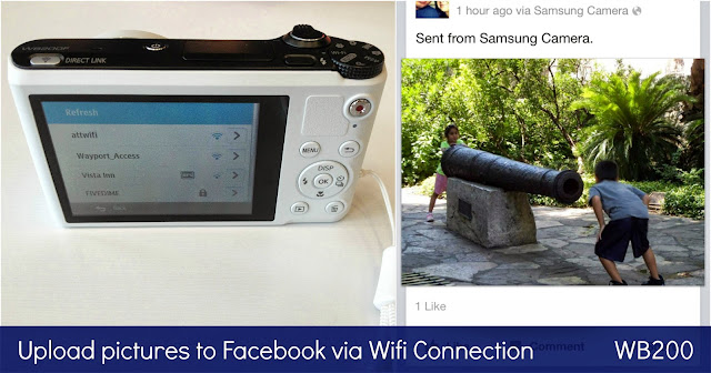 Samsung WB200 Long Zoom Wifi Camera Review