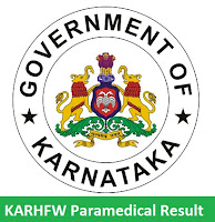 KARHFW Paramedical Result