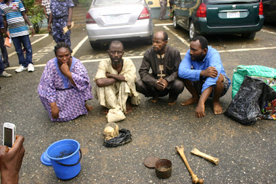 Ritualist Arrested With Human Parts From Grave In Lagos
