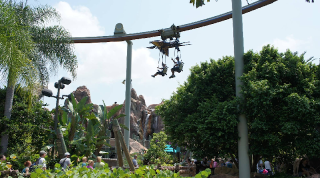 Pteranodon Flyers no Islands of Adventure em Orlando